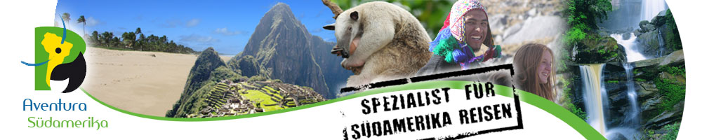 Aventura S&uuml;damerika Reisen - Spezialist f&uuml;r Brasilien Reisen